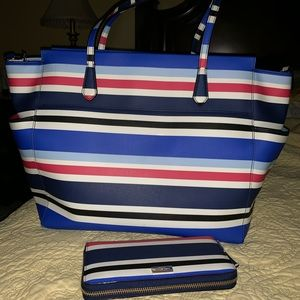 Kate Spade Diaper Bag and Wallet